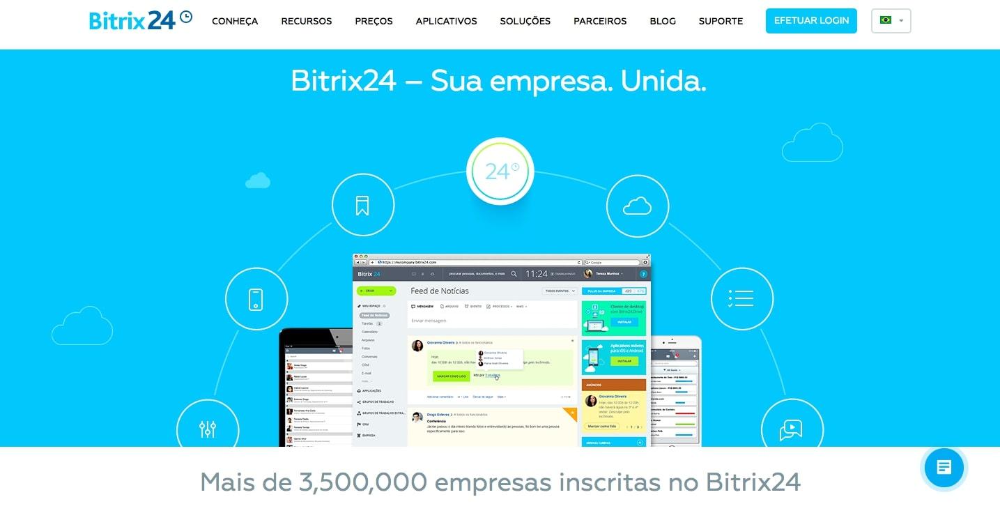 Ferramentas de gestão de projetos Bitrix24