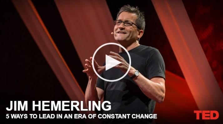 TED 5 maneiras de liderar em uma era de constantes mudanças