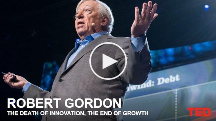 TED A morte da Inovação, o fim do Crescimento