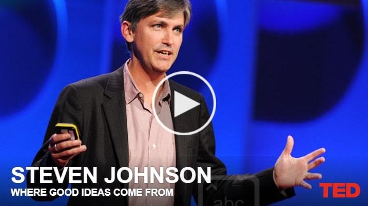 TED De onde boas ideias vêm