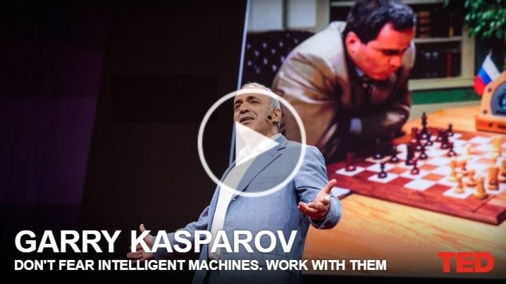 TED Não temam máquinas inteligentes. Trabalhe com eles
