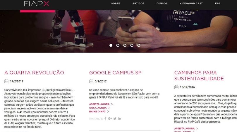 Podcast sobre inovação e tecnologia -  FIAP Café
