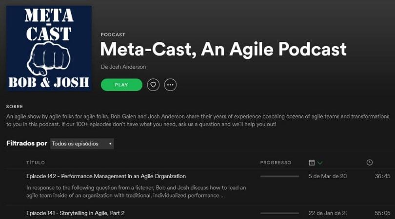 Podcast sobre inovação e tecnologia - Meta Cast
